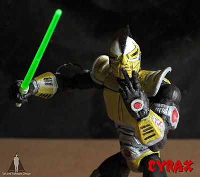 cyrax sword action figures