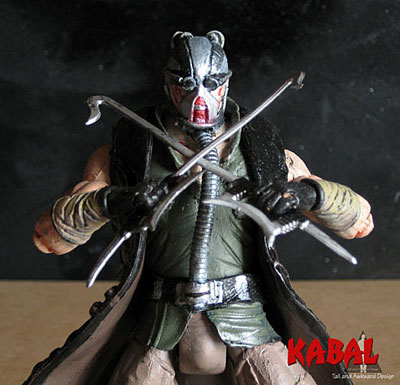 Kabal closeup action figures