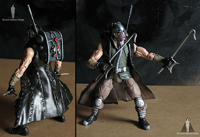Kabal stance action figures