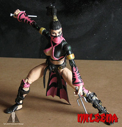 Mileena action figures