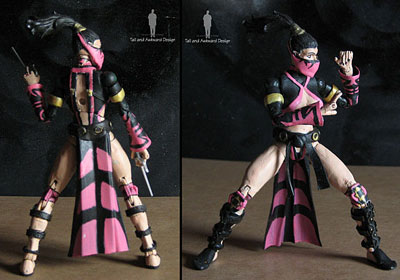Mileena fightstance action figures