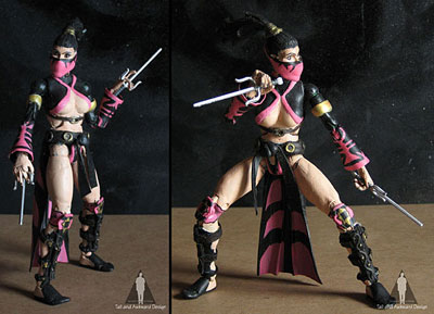 Mileena saistance action figures