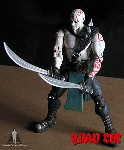 Quan Chi swords action figures