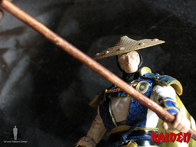raiden closeup action figures
