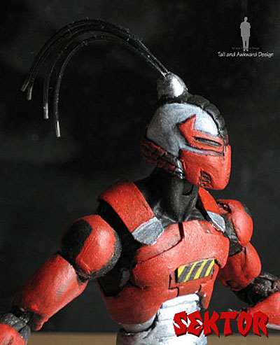 Sektor action figures