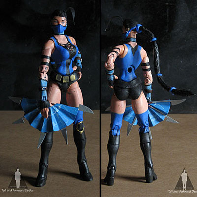 Kitana front action figures