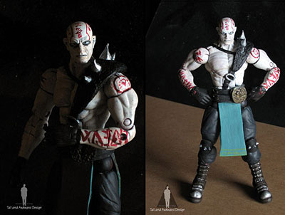 Quan Chi shadows action figures
