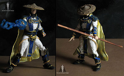 raiden lightningthrow action figures