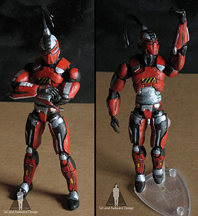 Sektor 3 action figures