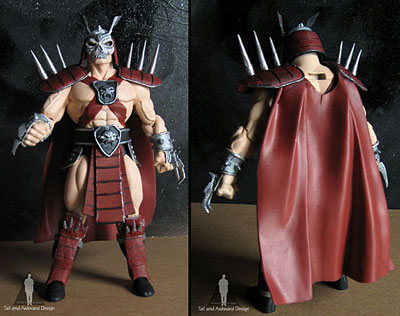 shao kahn Front action figures