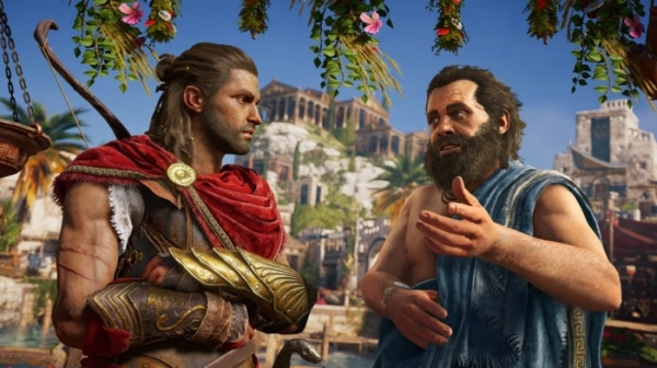 Ubisoft представила Odyssey — новую часть Assassin's Creed, делающую упор на RPG-элементы